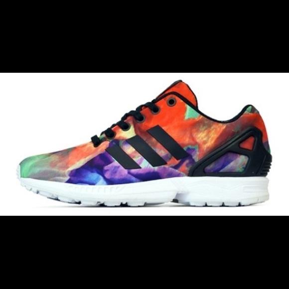 new style f0a4e bb97e Adidas Originals ZX Flux 'Floral'//Size.7